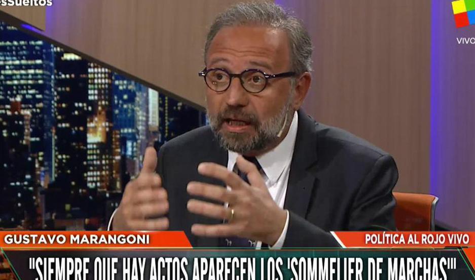 ROL. Marangoni le avizora a Macri ser un gran referente de la oposición.