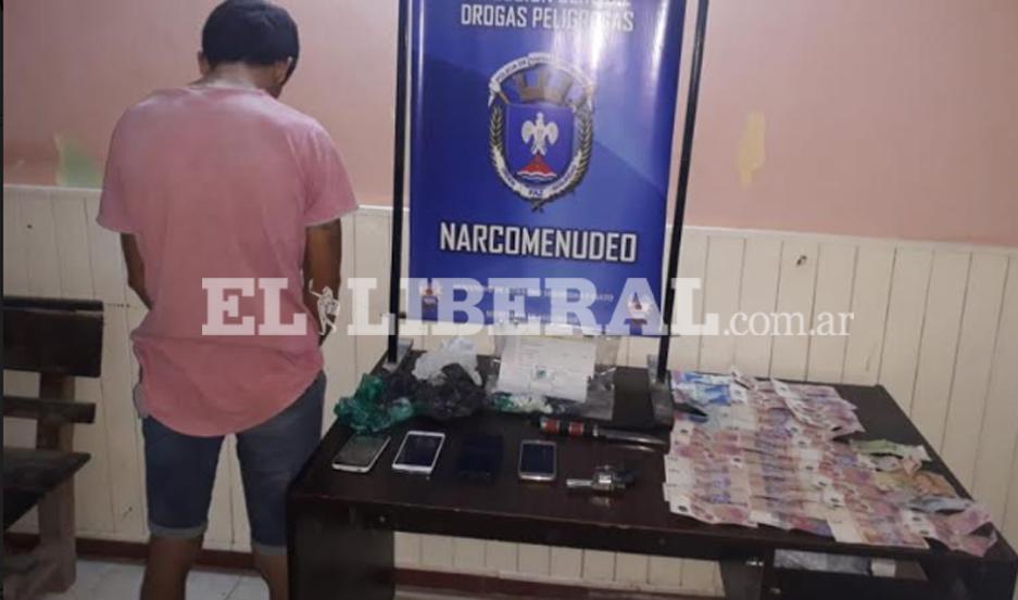 El sujeto fue apresado por el personal policial de Monte Quemado.