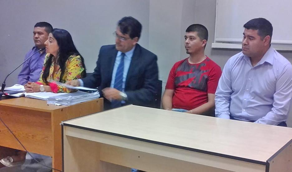 PROCESO. Quedaron libres Héctor Germán Gutiérrez, Luis Marcelo Gómez e Iber Joaquín Gutiérrez.