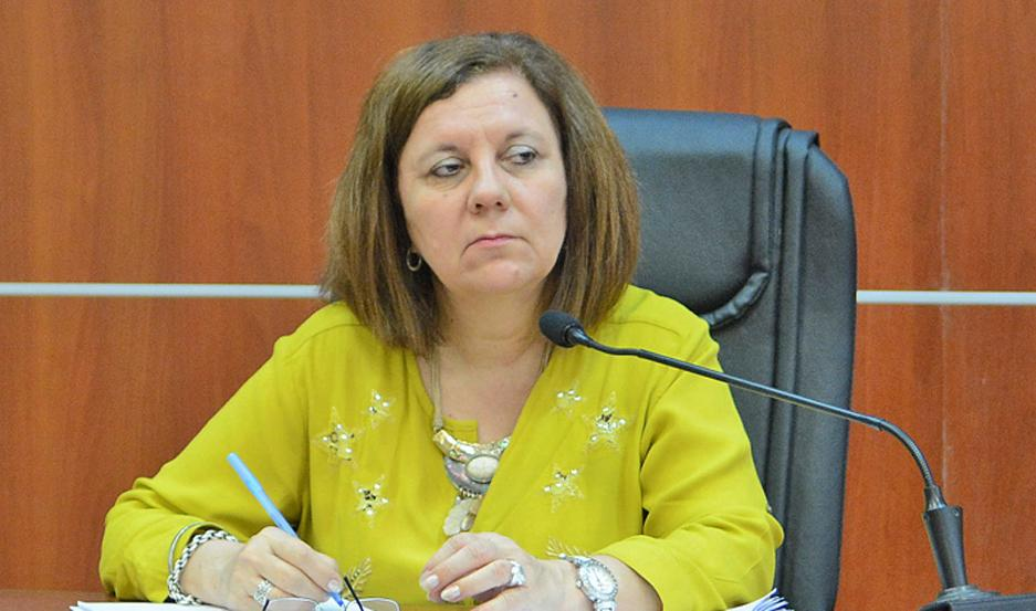 FALLO. La Dra. Sara Harón hizo lugar a lo solicitado por la Fiscalía.