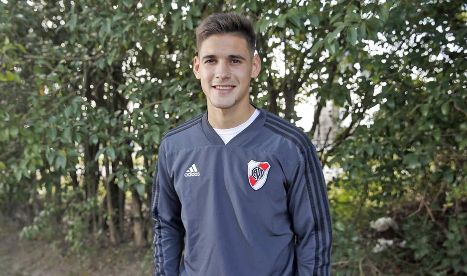AMBICIÓN. Lucas Martínez Quarta dijo que no piensa en irse de River y que si lo haría sería para ir a jugar cosas importantes.