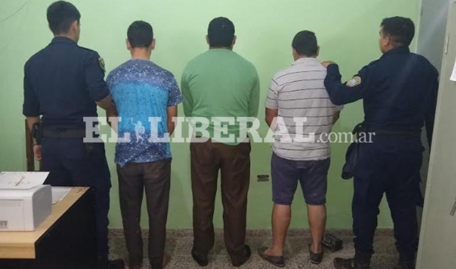 Los acusados fueron puestos a disposición de la Justicia.