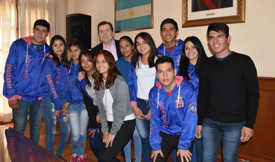 """Los estudiantes llegaron a la Capital en el marco del programa """"Conociendo mi Provincia""""."""