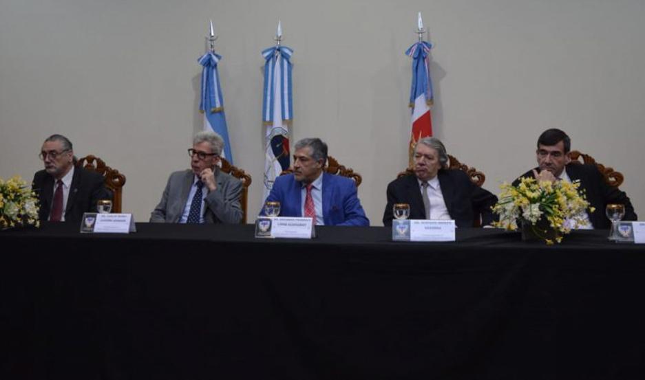 Presidieron, el STJ y el Fiscal General.