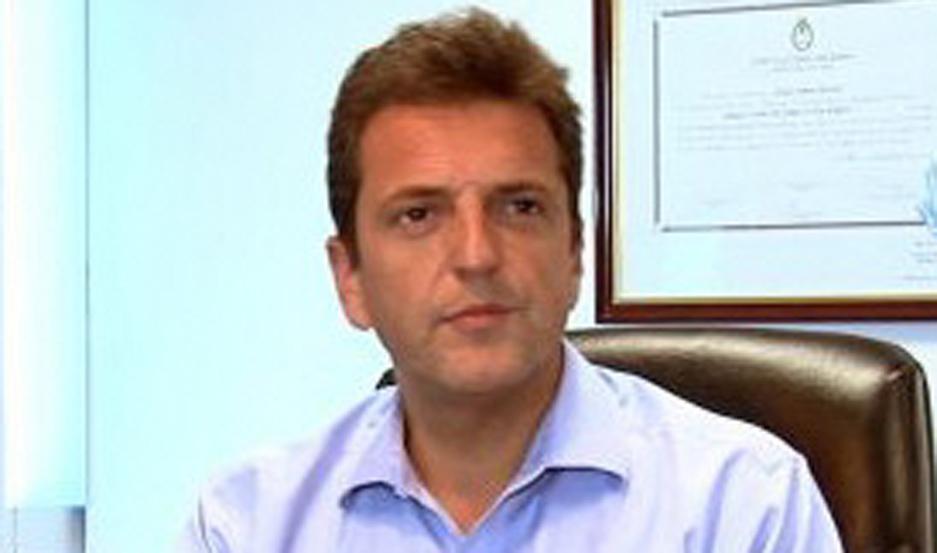 SERGIO MASSA.
