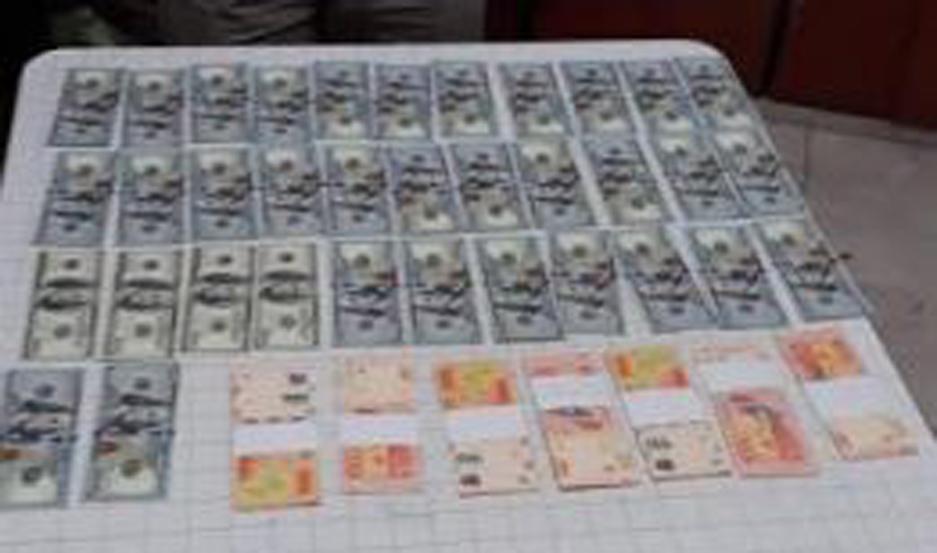 La Fiscalía, a cargo del Dr. Ángel Belloumini, dispuso el secuestro del dinero encontrado.