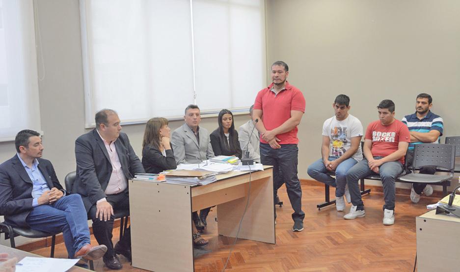 El trámite fue pospuesto para el martes próximo, a la espera de un nuevo abogado para Rubín.
