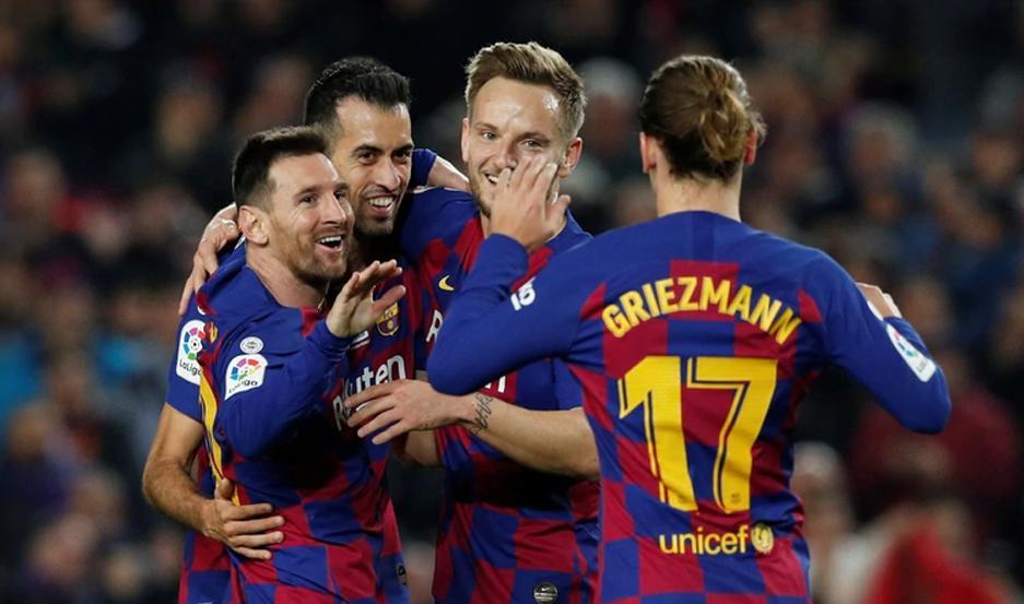 El argentino estrenó su sexto Balón de Oro con una exhibición de buen fútbol ante el Mallorca.