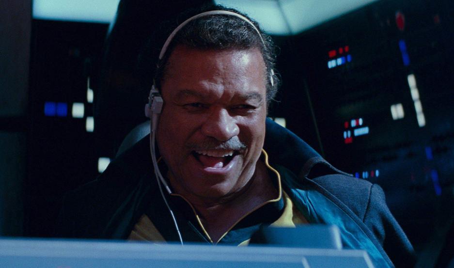 Billy Dee Williams vuelve en la piel de Lando Calrissian.
