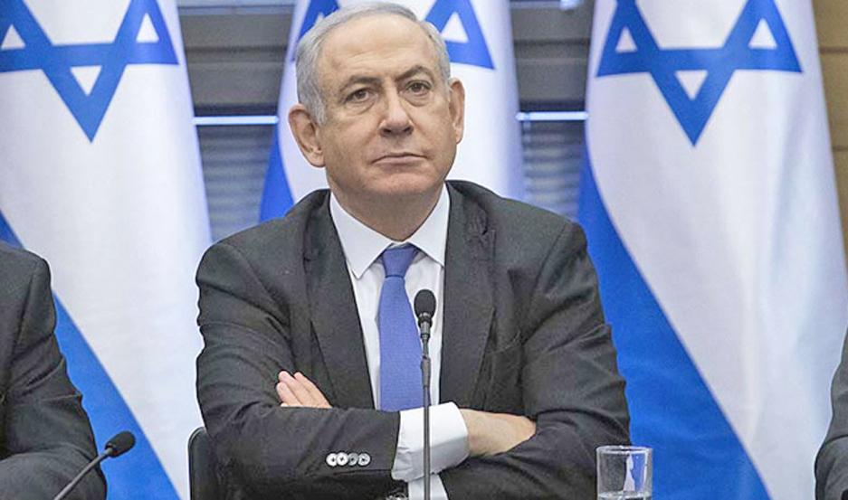 Netanyahu, el jefe de Gobierno, imputado por corrupción.