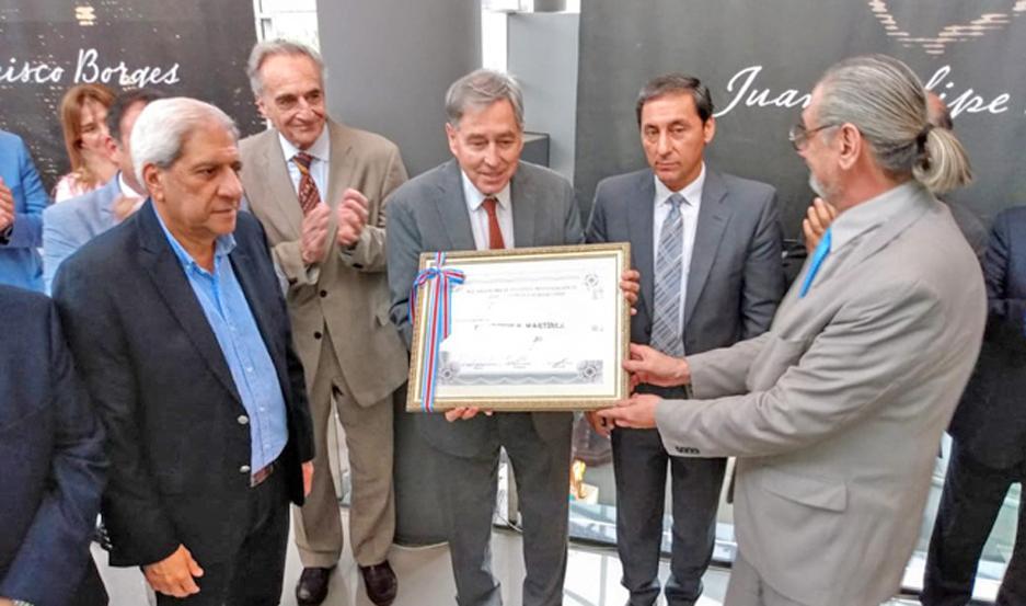 ACTO. Participaron el vicegobernador Carlos Silva Neder y el senador nacional José Emilio Neder, entre otras autoridades.