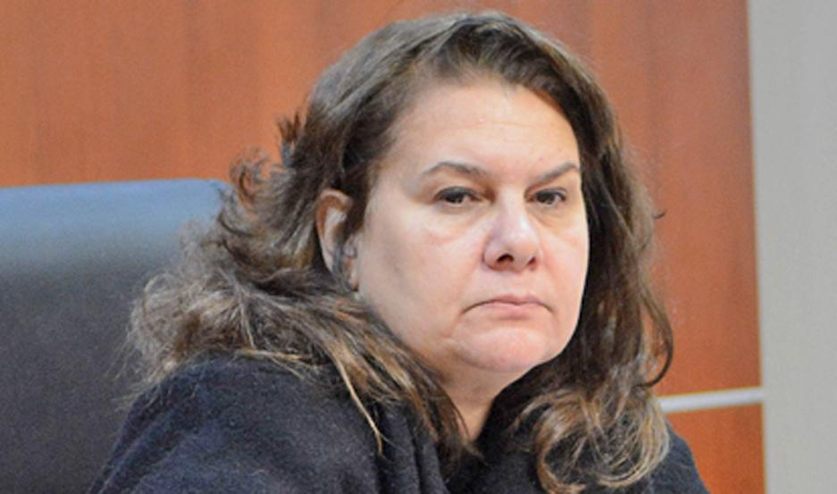 Cecilia Laportilla, magistrada.