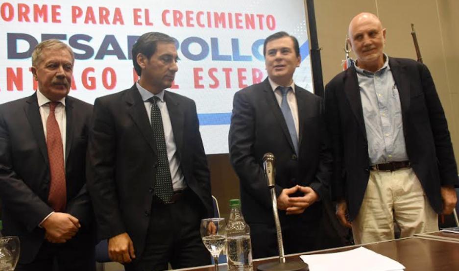 La presentación del proyecto fue presidido por el gobernador Dr. Gerardo Zamora.