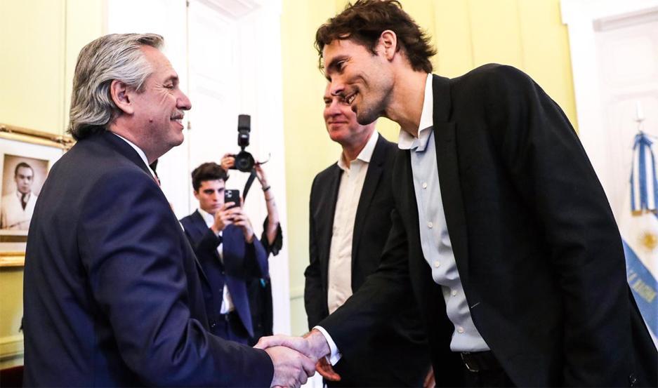 El primer mandatario recibió en audiencia a Philipp Schindler, Chief Business Officer Global de Google.