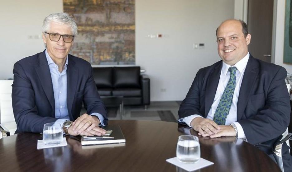 Luis Malvido y Pablo Ceriani se reunieron para la transición de Aerolíneas.