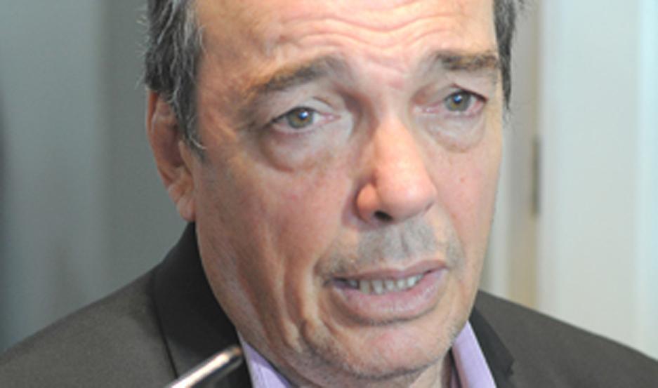 MINISTRO. Ángel Niccolai repasó acciones de su cartera.