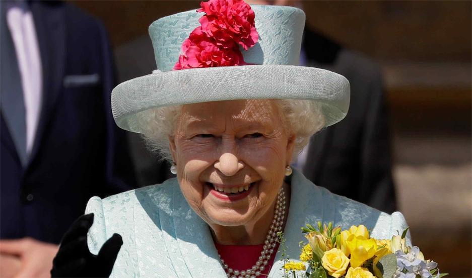 Isabel II, reina de Inglaterra.