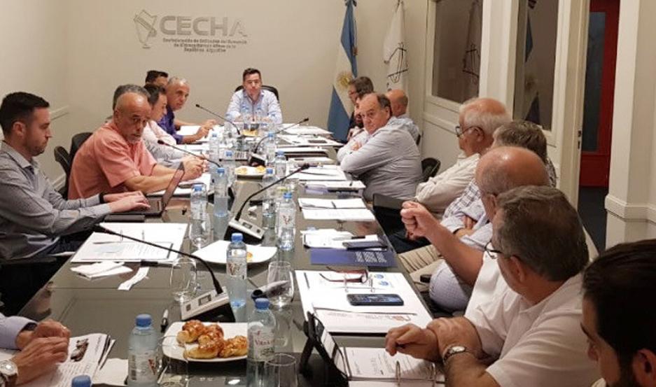 REUNIÓN Cecha solicitó un encuentro para contar la situación sectorial.