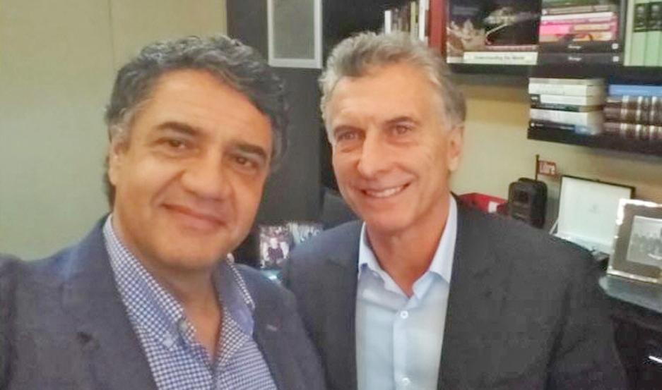 """JORGE. """"Seguimos trabajando juntos"""", rescató el primo de Mauricio Macri."""