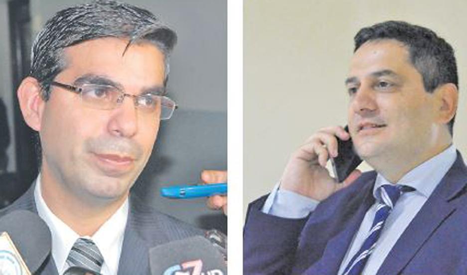 CARGOS Fiscales, Gabriel Gómez y Santiago Bridoux, comandan la investigación.