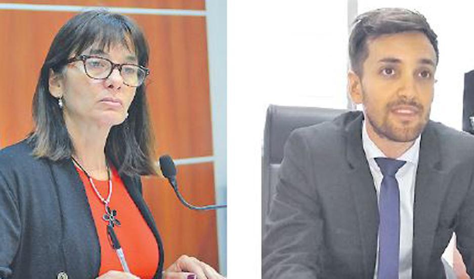 FALLO. La Dra. Cecilia Vittar resolvió hacer lugar a lo solicitado por el Dr. Mariano Tulli, representante de la Fiscalía.