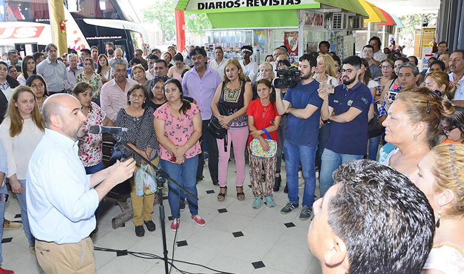 PRESENTACIÓN El Centro de Pagos municipal recibirá cualquier tipo de trámite, explicó Mirolo.