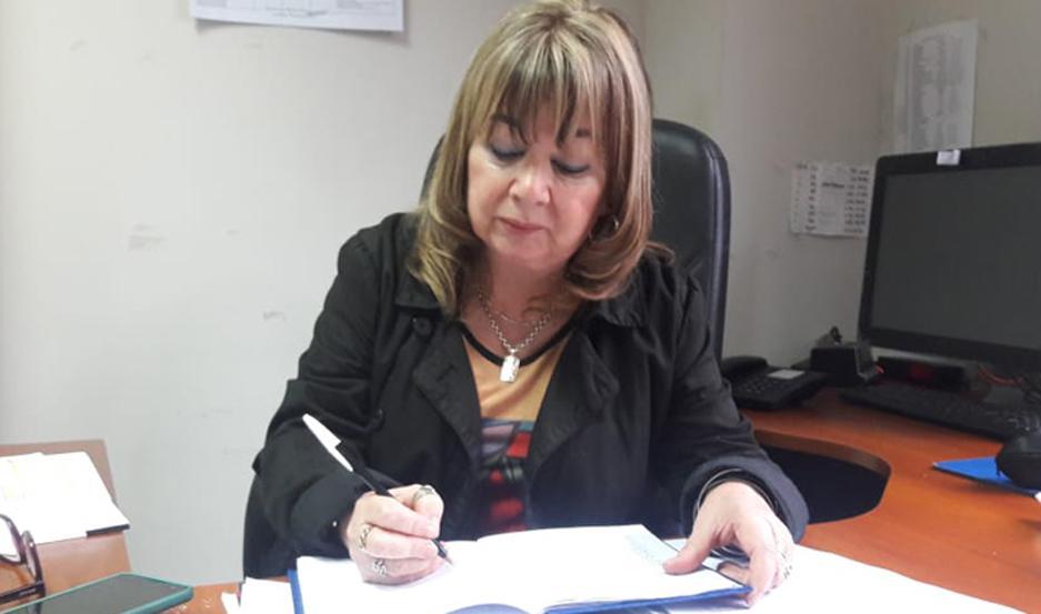 MEDIDAS. La Dra. Marta Elena Ovejero intervino en el caso y ordenó varias medidas, entre ellas el pedido de captura nacional e internacional.