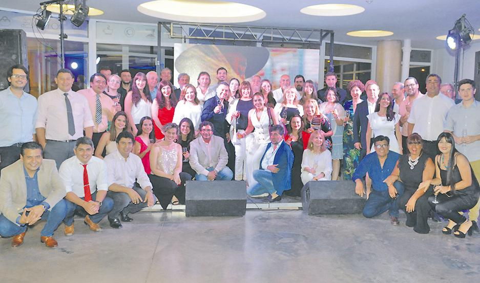 DISTINGUIDOS. La Catuse felicitó a referentes del sector privado por su aporte al turismo en la provincia.