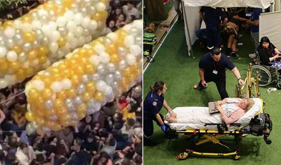 Varios heridos por una estampida humana durante un reparto de regalos - Actualidad