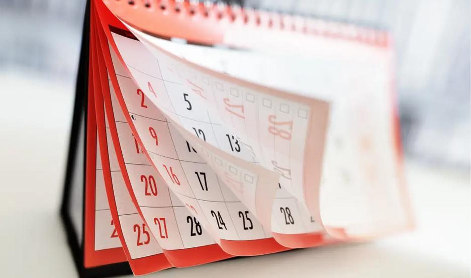 Calendario oficial de feriados 2020 en Argentina.