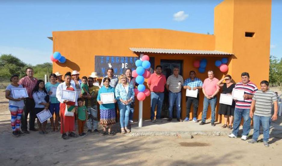 Familias de Sotelo y Pozuelos recibieron viviendas sociales.