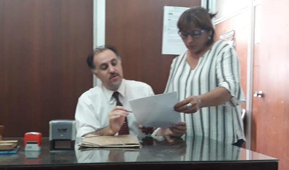 BALANCE. El titular de la oficina, Dr. Pablo Prados, realizó un análisis del trabajo de este año.