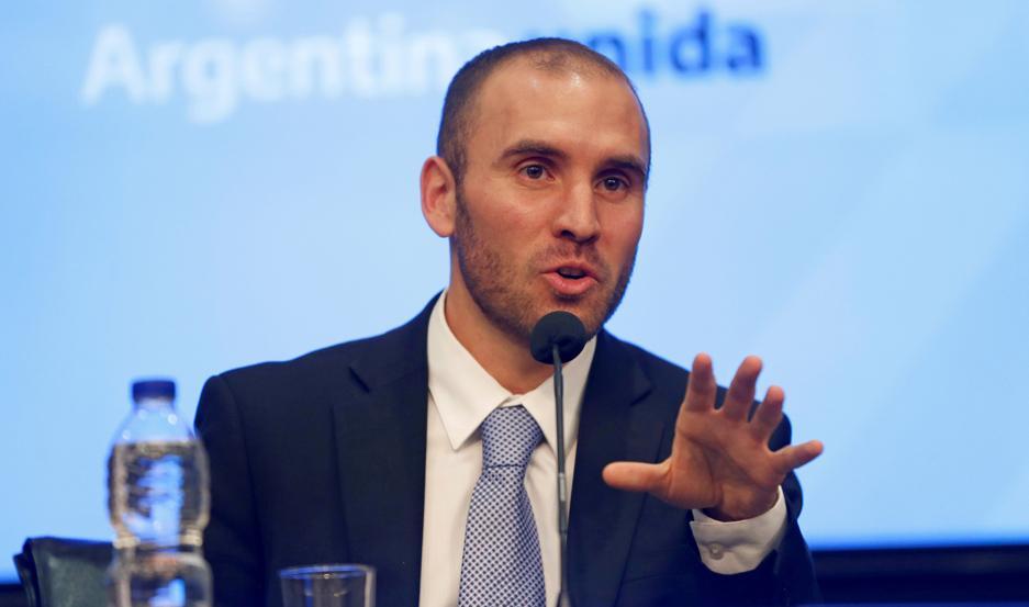 MINISTRO. Martín Guzmán, titular de Economía.