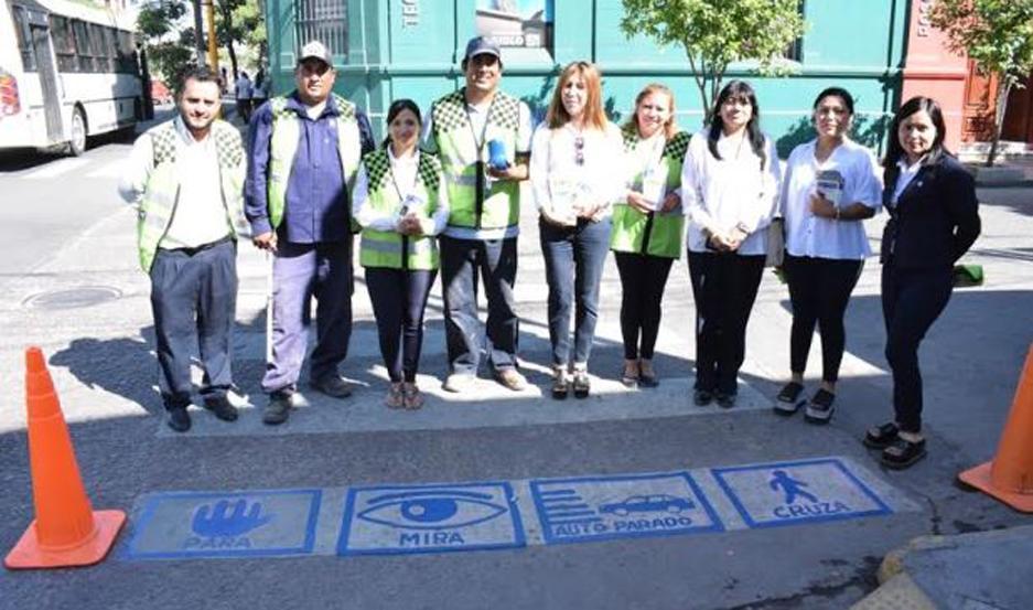 Personal de Educación Vial, junto a instituciones y familias trabajan por la inclusión y la difusión de los derechos de las personas con TEA.