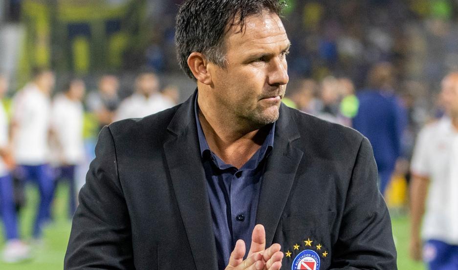Dabove espera que su Argentinos Juniors esté a la altura en las últimas siete fechas de Superliga, en las que irá por el título.