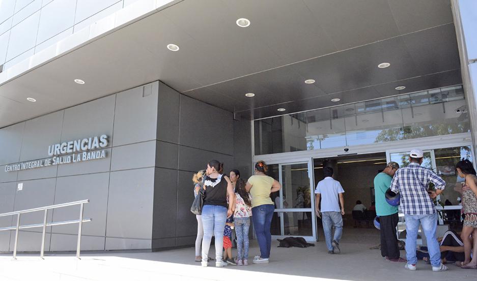 EVOLUCIÓN. Candela continúa internada en la Sala de Terapia Intensiva del Centro de Salud Banda.