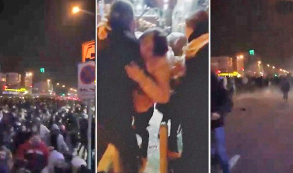 DENUNCIA. Videos difunden los ataques de la policía iraní.