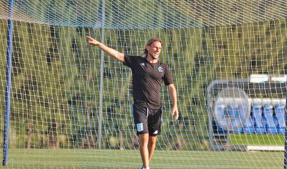 DESAFÍO. Sebastián Beccacece viene de dirigir a Independiente, el clásico rival de Avellaneda de Racing.