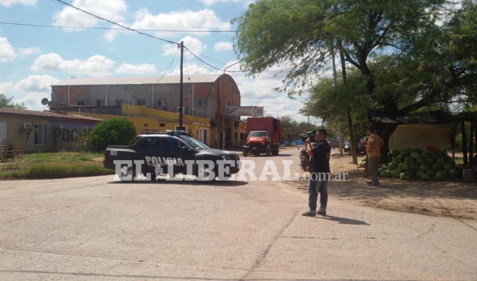 Los dos lesionados fueron derivados a la sala de urgencias del Hospital Zonal.
