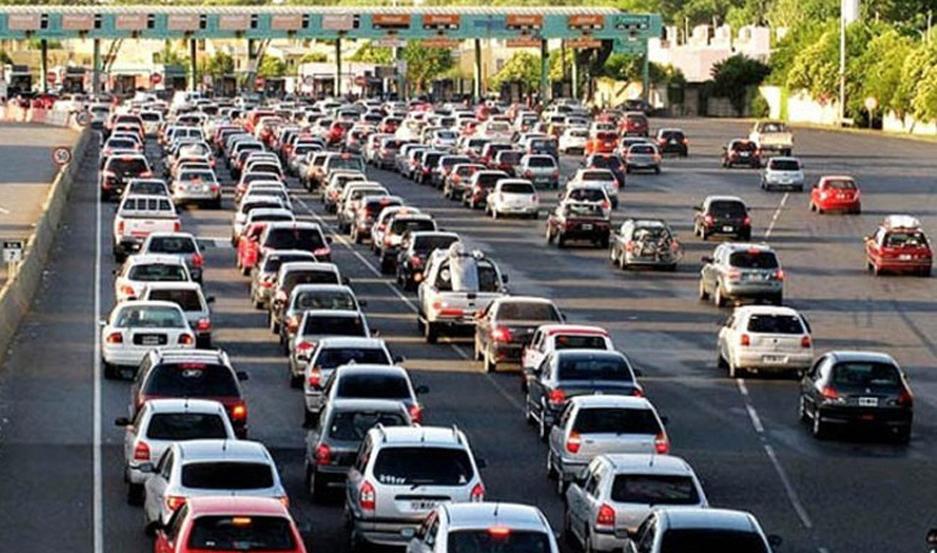 Ingresaron miles de autos por hora a la zona de la Costa Atlántica.