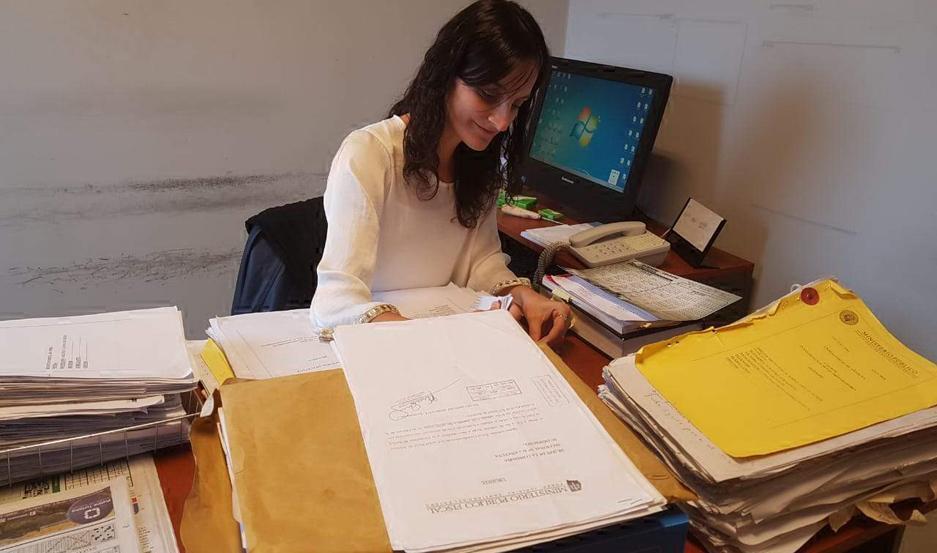 Interviene la Dra. Alejandra Sobrero.