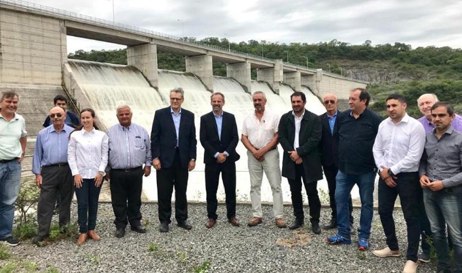 Autoridades de ambas provincias se reunieron en Frías y en Catamarca, al pie de la presa El Bolsón.