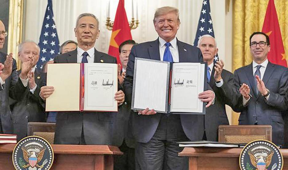 Destaca Trump al T-MEC como nuevo modelo comercial