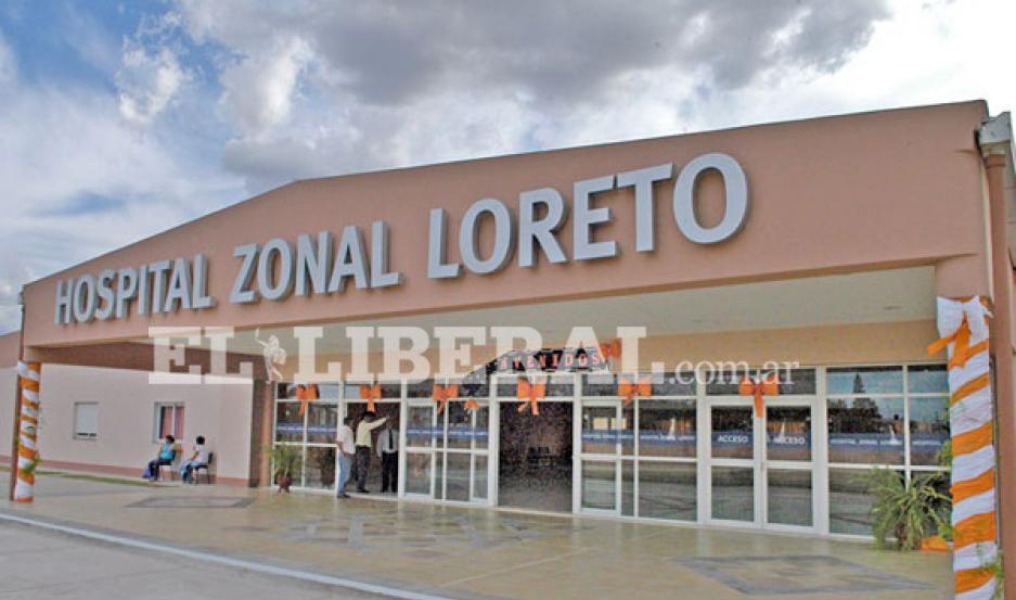 Tras el accidente en la Ruta 9, los damnificados fueron conducidos al Hospital Zonal de Loreto.