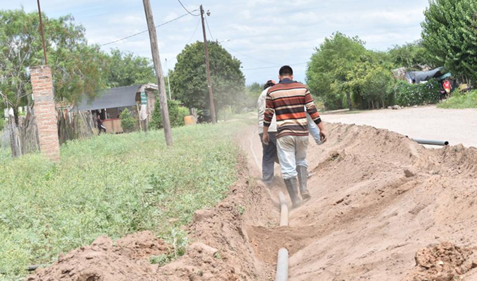 PEDIDO. Numerosas familias dispondrán de un mayor caudal de agua también en otros barrios como el denominado 40 Viviendas.