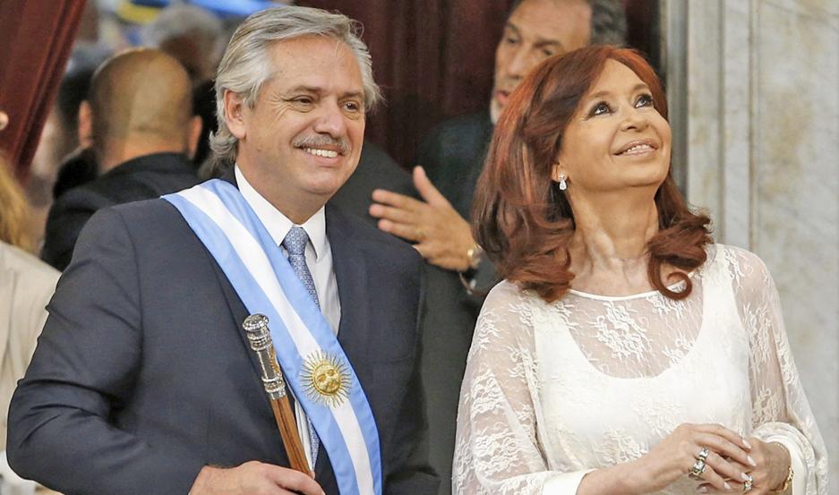 REEMPLAZO. Cristina Kirchner es la primera en la línea de sucesión presidencial.