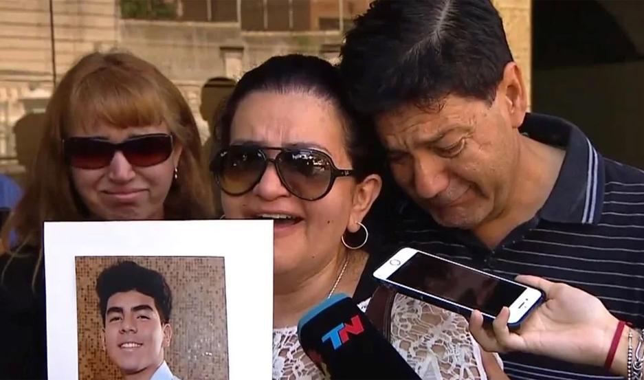 Silvino y Graciela Báez padres de Fernando Báez Sosa asesinado a golpes por rugbiers en Villa Gesell