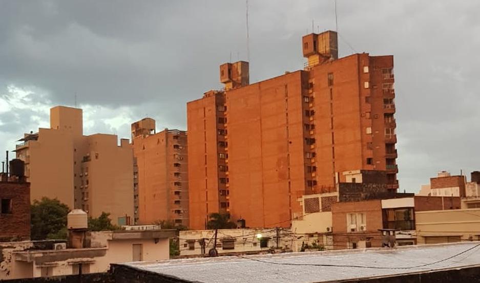 Cambio de tiempo en Santiago del Estero.