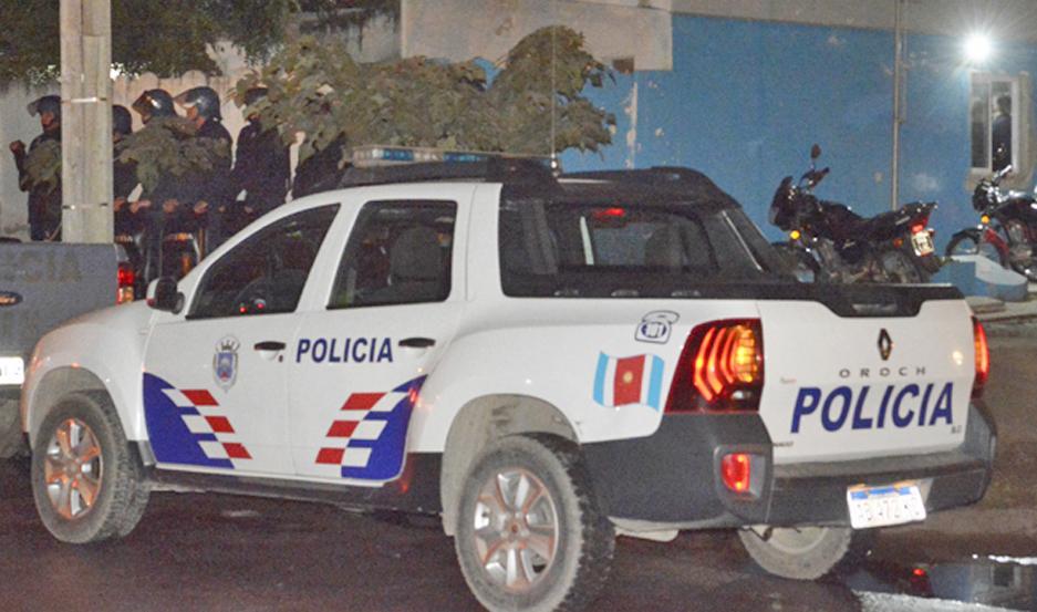 SECCIONAL 18. La Policía trataba de dar con el agresor.