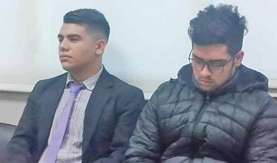 Edgar Moreno Piazzi y Facundo Jiménez fueron condenados en juicio abreviado.